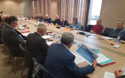Réunion de présentation de l'état d'avancement des discussions relatives au renouvellement du contrat de concession de distribution publique d'énergie électrique et de fourniture aux tarifs réglementés de vente.